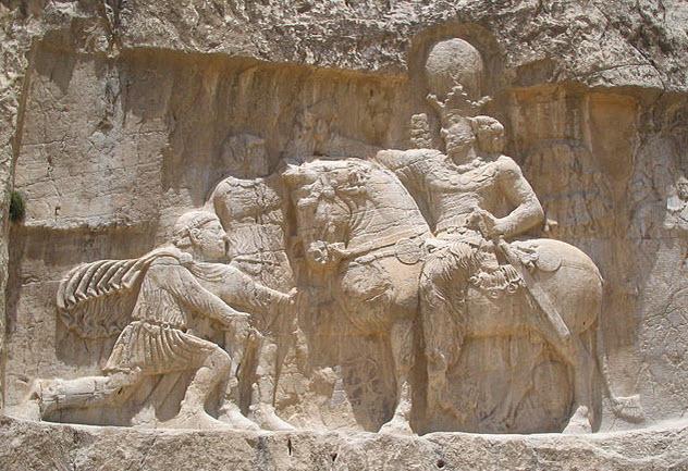 8-rock-relief-shapur-I-triumph