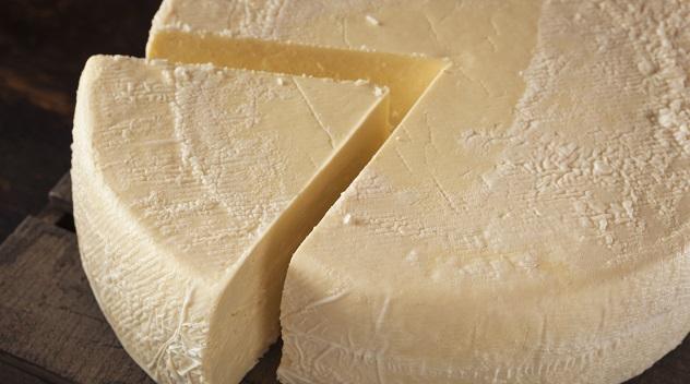 Large Organic White Cheese Wheel
