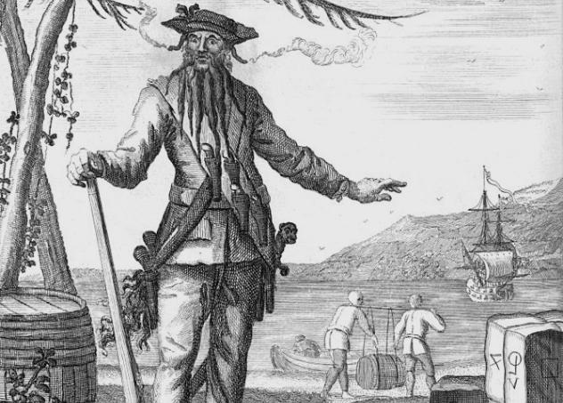 Blackbeard and His Ship