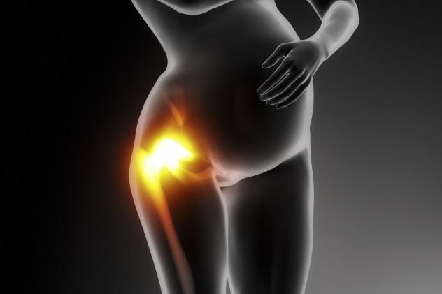 боли в тазобедренных суставах при беременности в третьем триместре