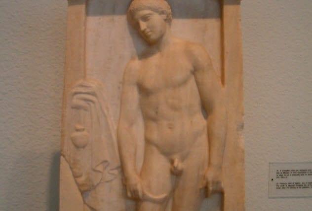 ancient greek life 7a-strigil