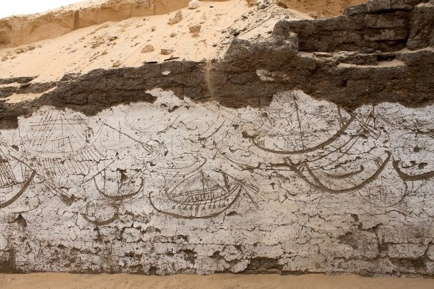South Abydos Ship Carvings