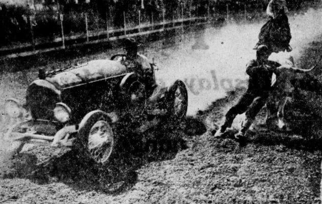 Wild West Car Stunt