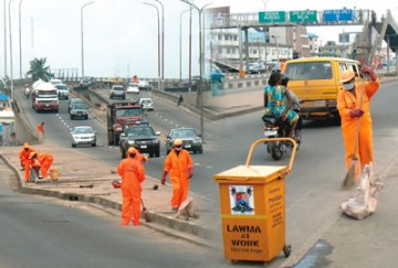 Littering the streets of Nigeria