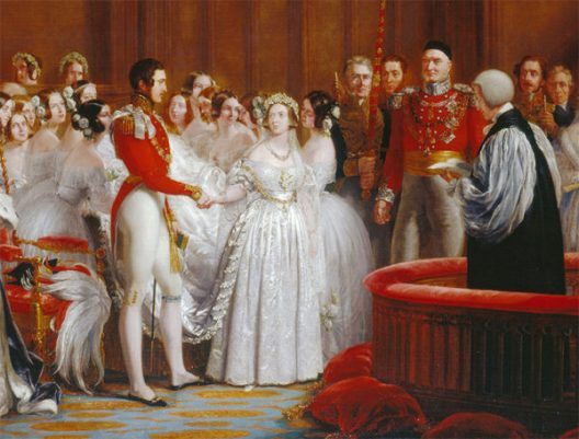 White gown history