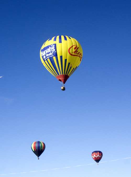 Harrah's casino hot air balloon