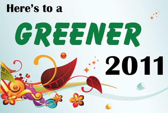Here's to a Greener 2011