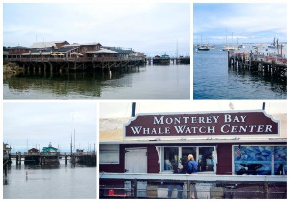 Wharf at Fishermans Wharf Monterey, CA