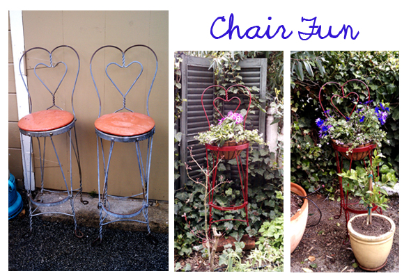 garden chair art