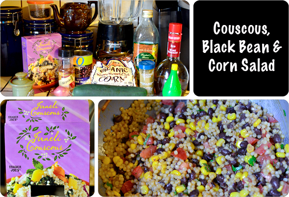 Couscous, Black Bean & Corn Salad