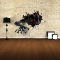 3D Wall Stickers Wall Decals, The Devil Decor Vinyl Wall ...