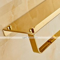 Gold-Plated Finishing Solid Brass Material toilet paper ...