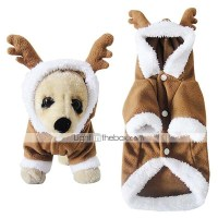 Cat / Dog Costume / Hoodie Coffee Dog Clothes Winter ...