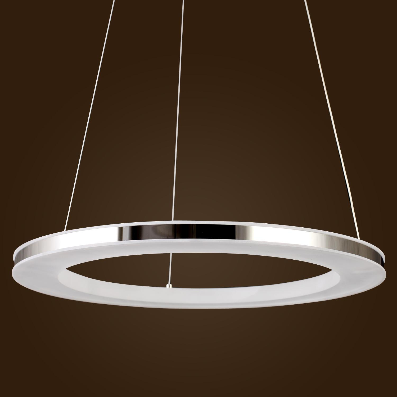Acrylic LED Ring Chandelier Pendant Lamp Ceiling Light