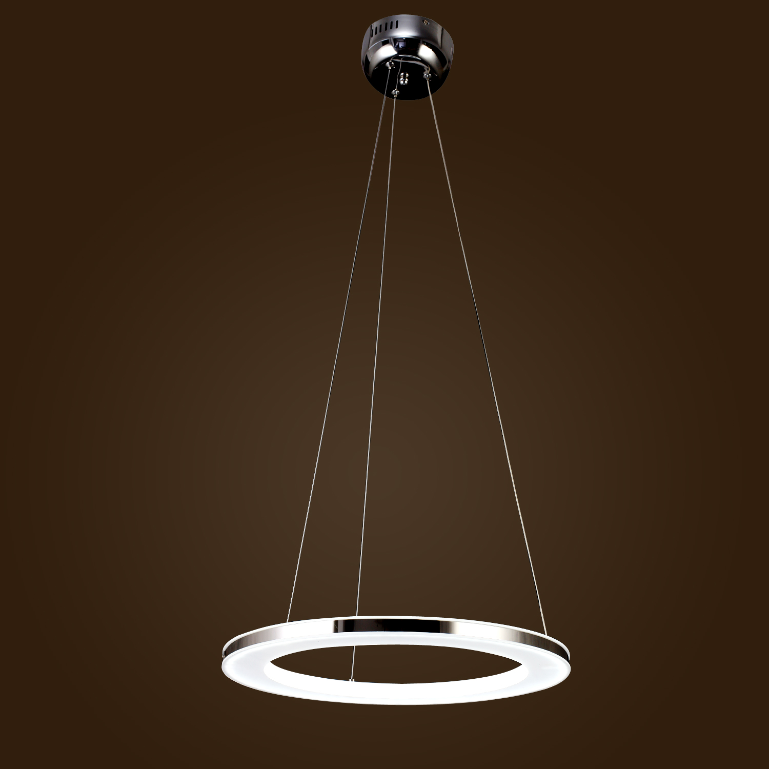 Modern Round Chandeliers 40 60 80cm Modern Led Acrylic Round Pendant Chandelier