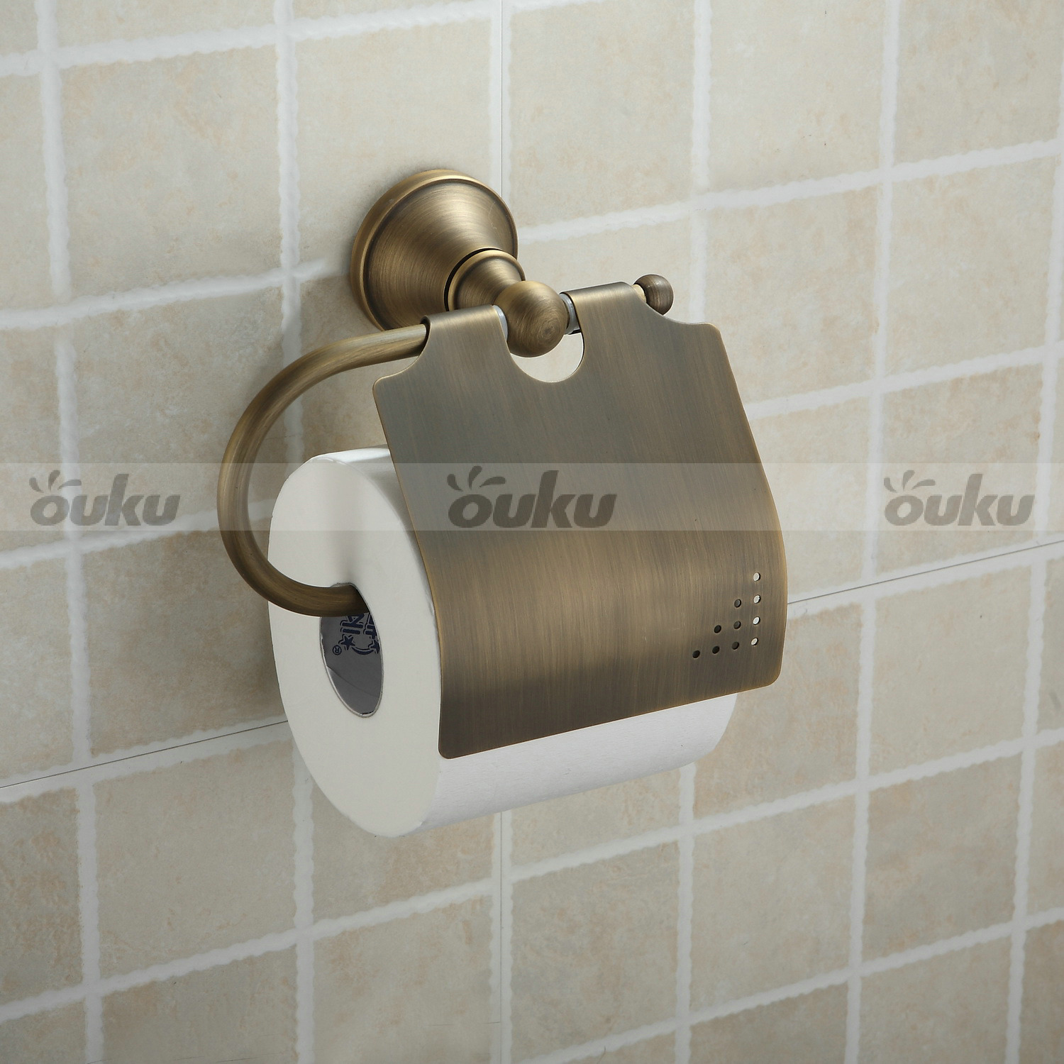 Antique Toilet Paper Dispenser Antique Brass Wall Mounted Toilet Roll Paper Tissue Holder