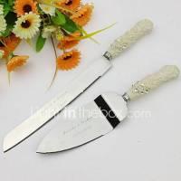 Serving Sets Wedding Cake Knife Personalized Elegant Cake ...