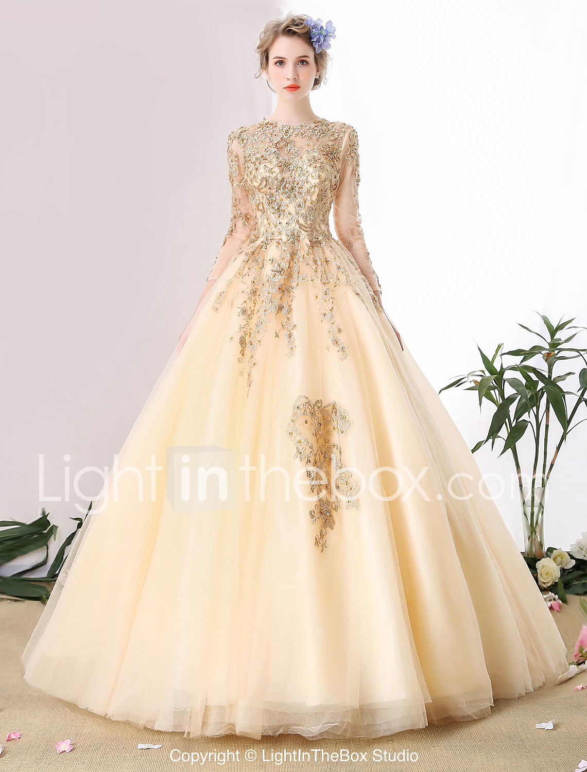ball gown wedding dresses ball gown wedding dresses Ball Gown Wedding Dress Wedding Dress in Color Cathedral Train Scoop Tulle with Beading Lace