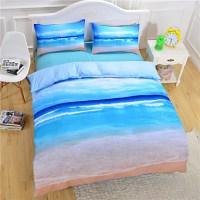 Beach Ocean Duvet Cover Set 3D Bedding Set Twin Full Queen ...