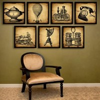 Still Life Framed Canvas / Framed Set Wall Art,PVC Black ...
