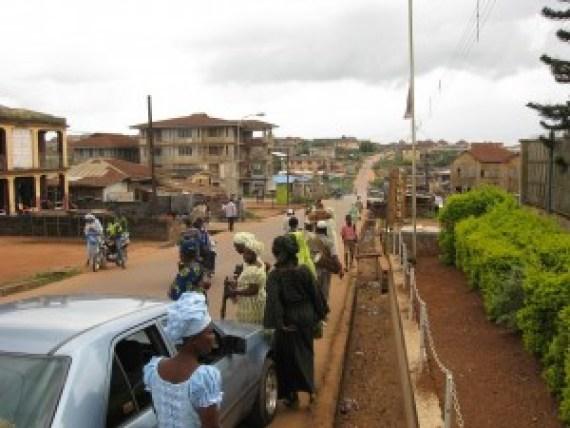 A road in Ijebu Igbo.