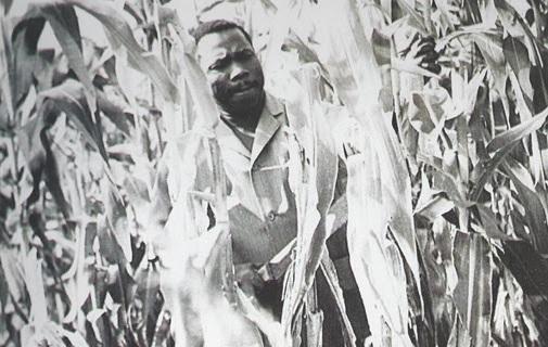 Obasanjo at his Ota farm.