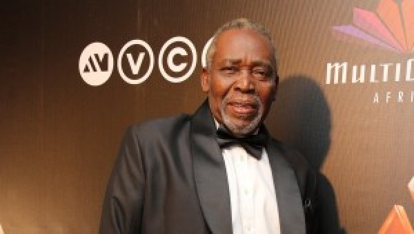 Olu Jacobs at Mnet's 2014 Africa Magic Viewers' Choice Award.