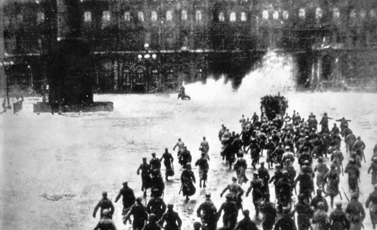 Campanha sobre o centenário da Revolução Russa