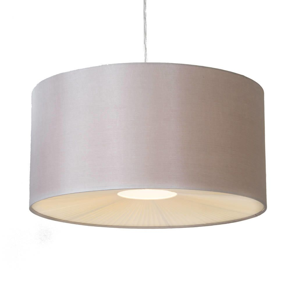 Ceiling Light Shades Large Ribbon Easy To Fit Ceiling Shade Drum Mocha From Litecraft