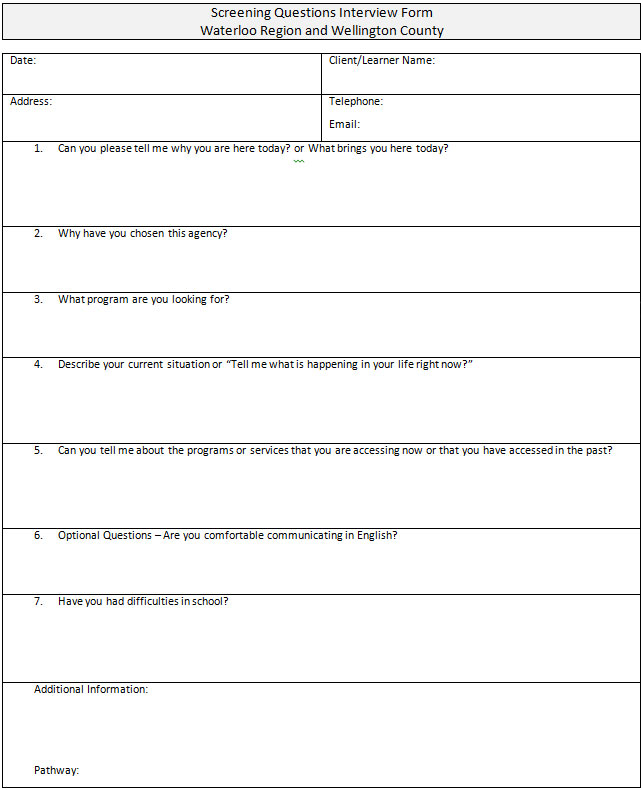 Interview Assessment Form Questions How To Write Cv In Russian - interview assessment forms