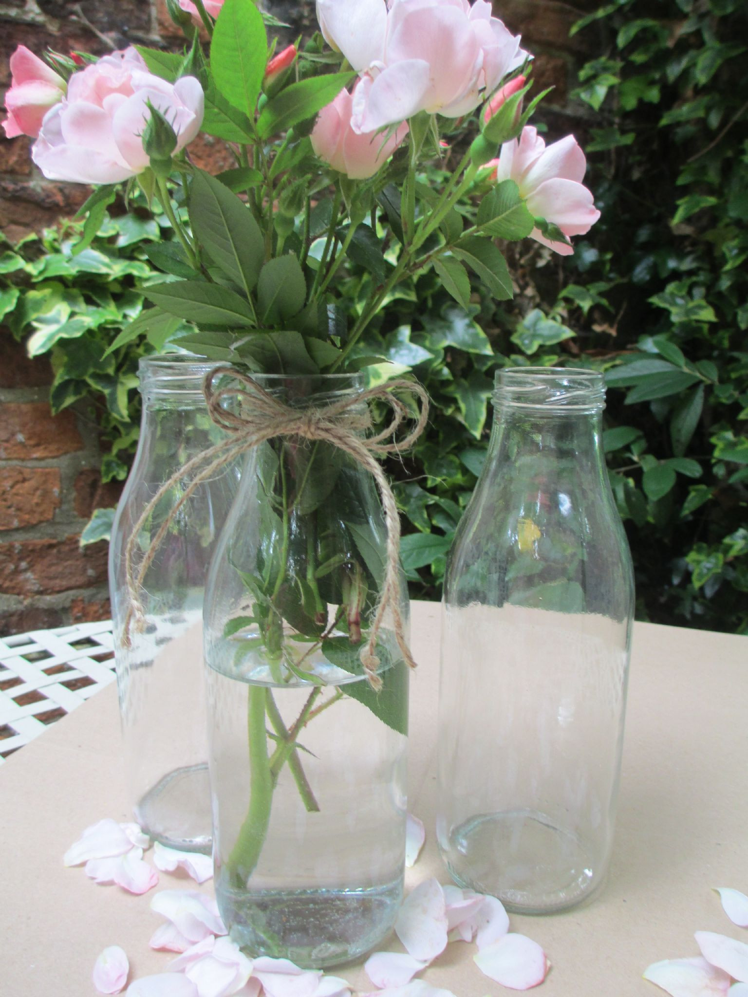 Milk Bottles For Decoration 27 Nice Vintage Wedding Centerpiece Vases Decorative Vase Ideas