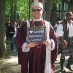 The Cardinal at the Renaissance Festival September 30th