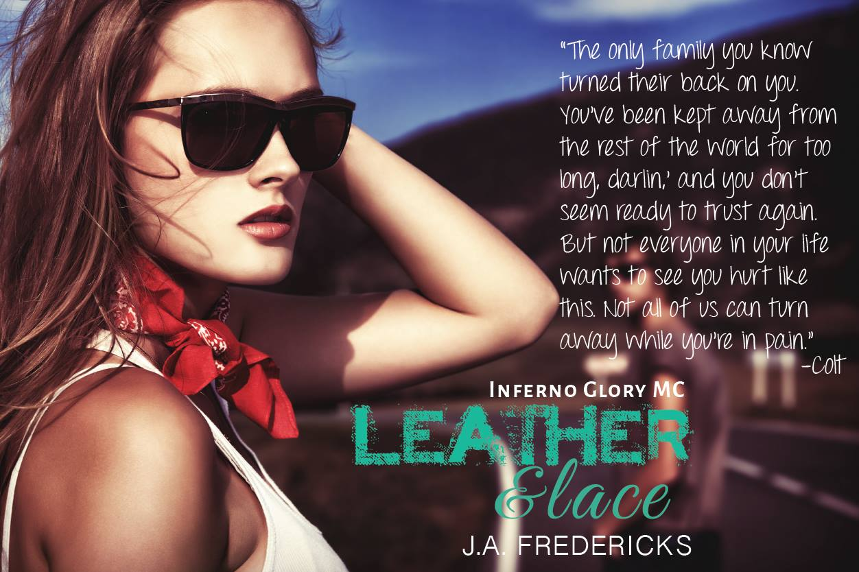 Leather & Lace by  J.A. Fredericks