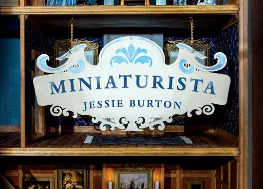 Capa do livro Miniaturista, escrito por Jessie Burton.