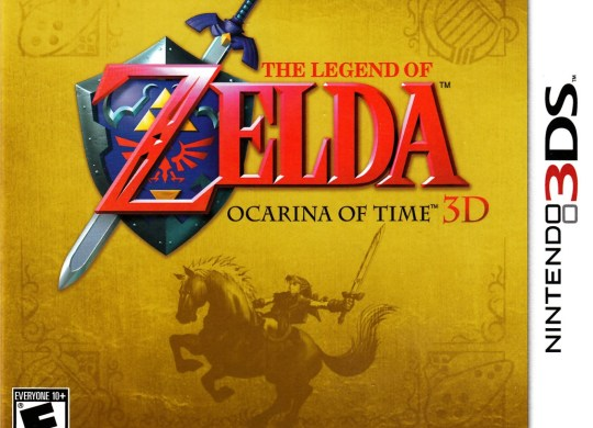 Capa do jogo The Legend of Zelda: Ocarina of Time.