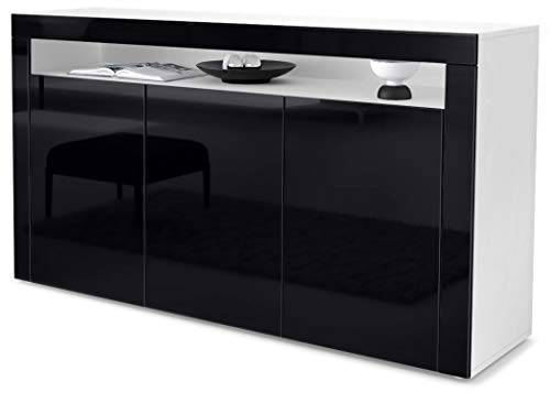 Top 10 Highboard Schwarz Matt Kommoden Sideboards Liteze