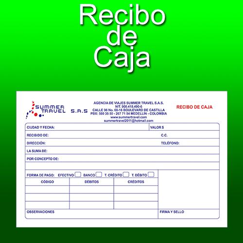 Formato Recibo De Caja Menor - prestamosrara