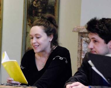 Monika Rinck und Christian Filips