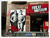 photo of the facade at the beat museum