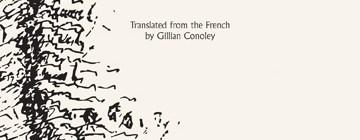 THOUSAND TIMES BROKEN: gillian conoley presents henri michaux
