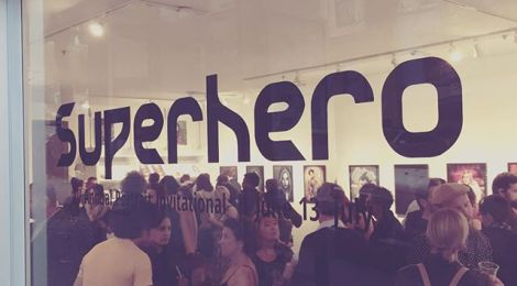 "QUIET LIGHTNING: written responses to the group exhibition ""Superhero"""
