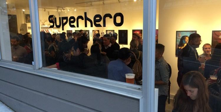 "QUIET LIGHTNING: written responses to the group exhibition ""Superhero"""