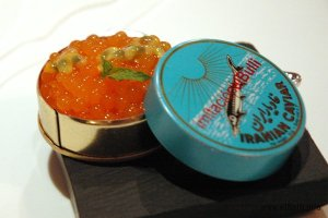 spherical melon caviar