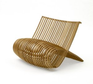 wood chair for cappellini, made in '88