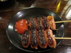 sausage yakitori
