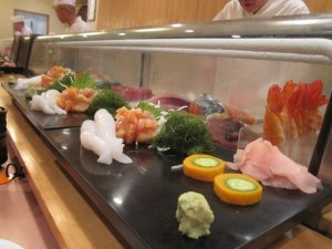 sushi dinner ueno tokyo 2