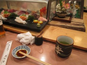 sushi dinner ueno tokyo 3