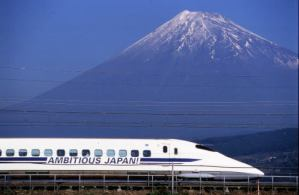 Mt.Fuji and Shinkansen