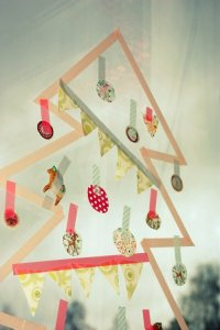 alternative christmas tree washi tape2