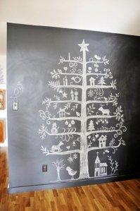 alternative christmas treechalk1
